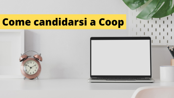 Come candidarsi a Coop