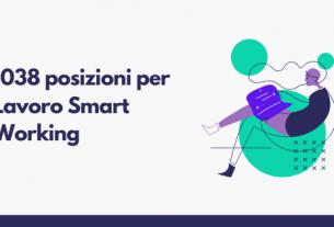 1038 posizioni per Lavoro Smart Working